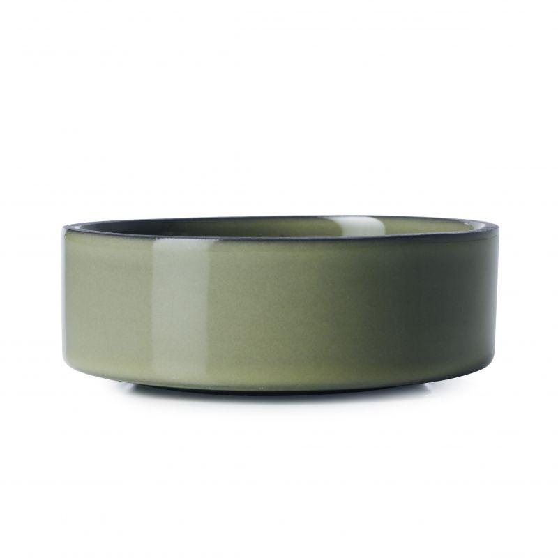 Miska Caractere Revol olivová 11 cm