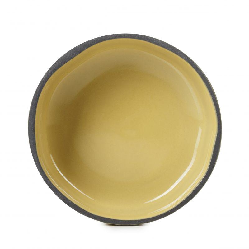 Miska Caractere Revol horčicová 11 cm