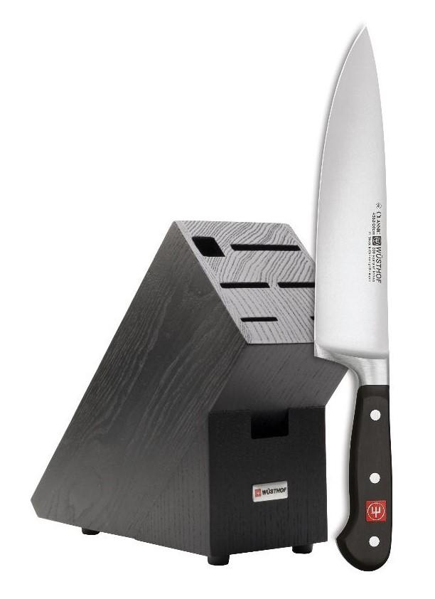 Kuchársky nôž 2 v 1 + blok zadarmo WÜSTHOF