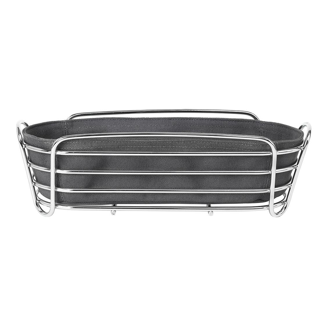 Košík na pečivo DELARA sivočierny Blomus - Blomus Ošatka na pečivo Delara šedočerná 32 cm