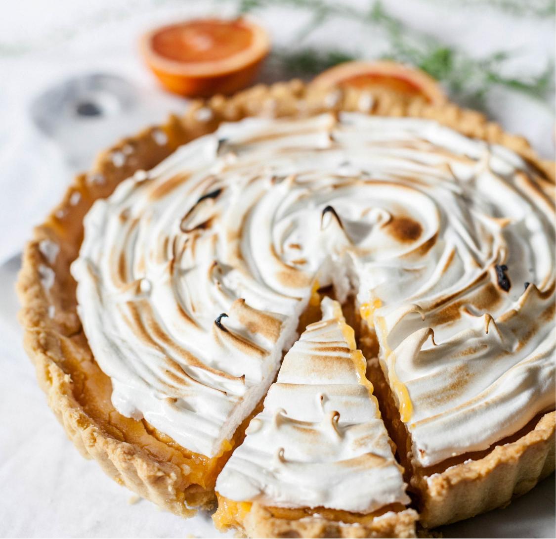 Pomerančový meringue Pie