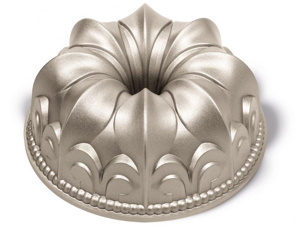 38987 forma na babovku lily flower bronzova 24 x 10 cm guardini
