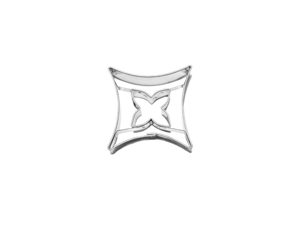 Oblý kosočtverec / oblý kříž