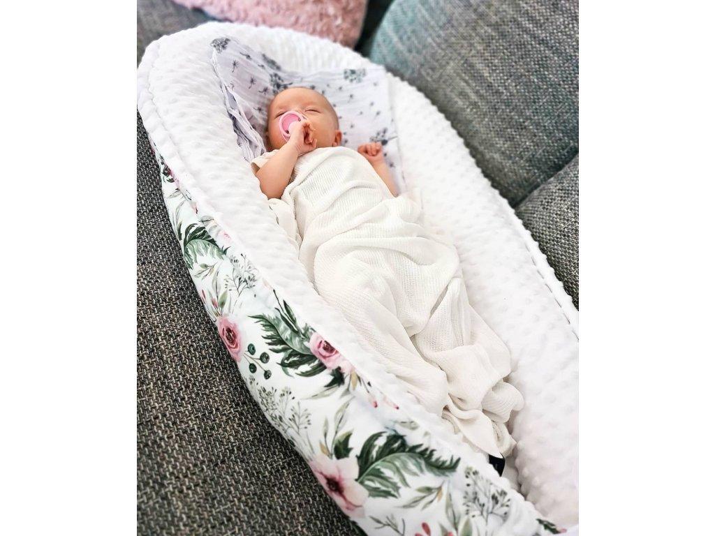 Hnízdečko pro miminko ,,RosAntic,, White