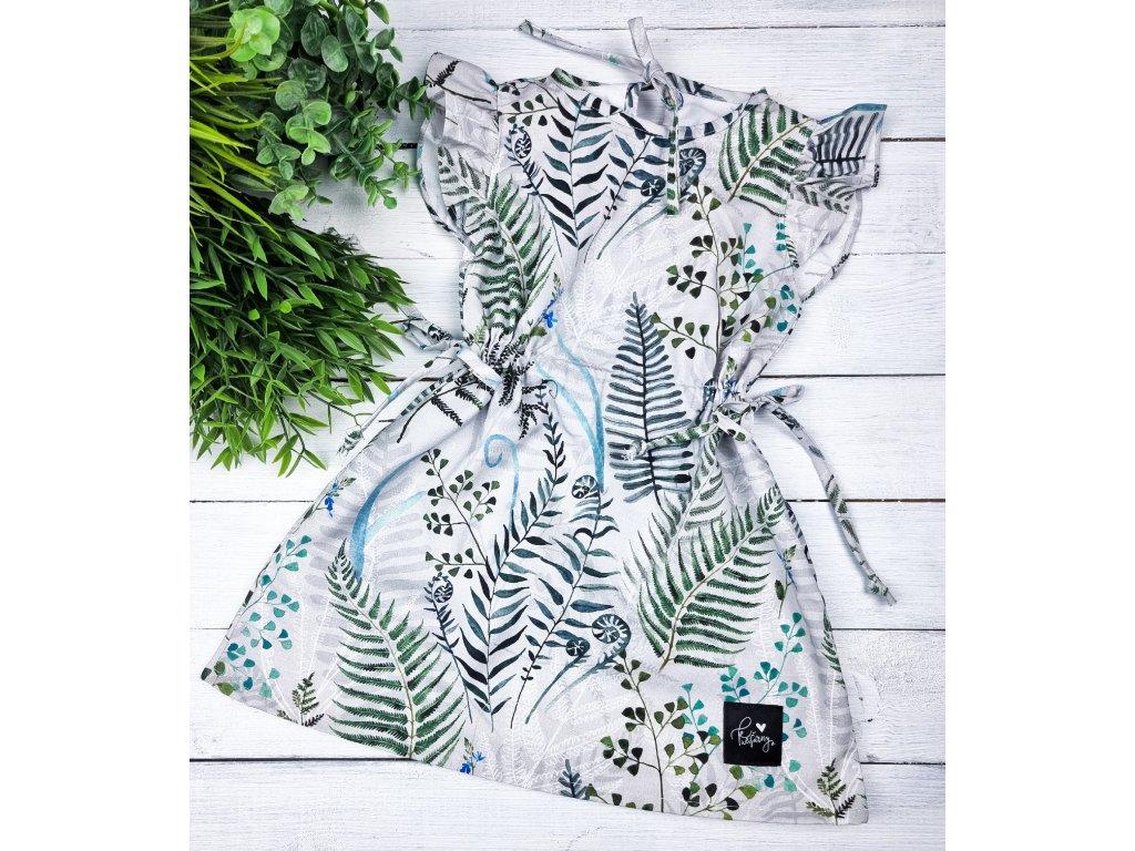 Letní šaty ,,ferns,,