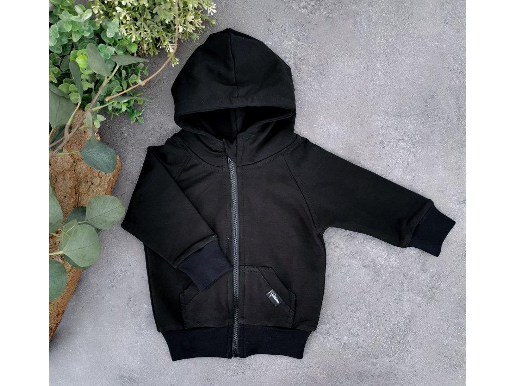 Mikina zipper ,,Black,,