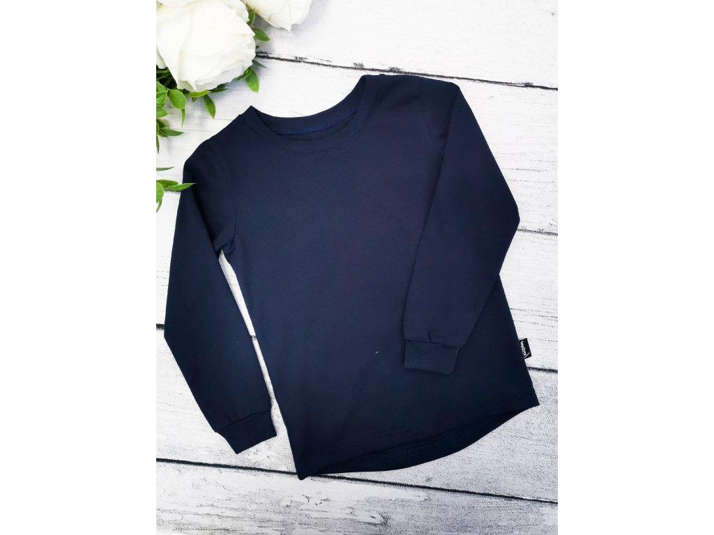 Tričko ,,Navy,, dlouhý rukáv