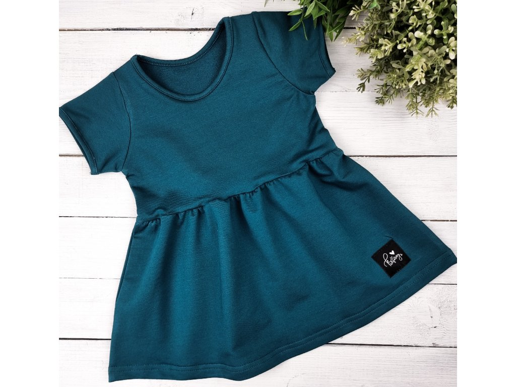 Princess šaty ,,TEAL,,