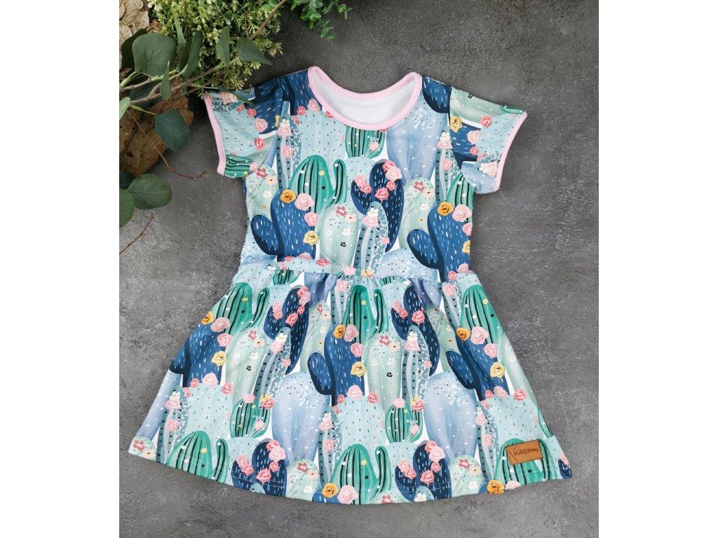 Princess šaty ,,Cactus,, vel.68 sklad š