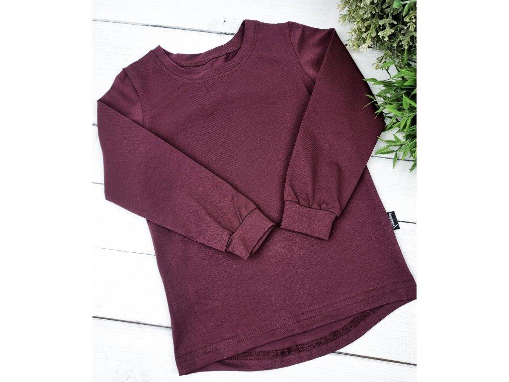 Tričko ,,JAVOROVĚ ČERVENÁ,, dlouhý rukáv