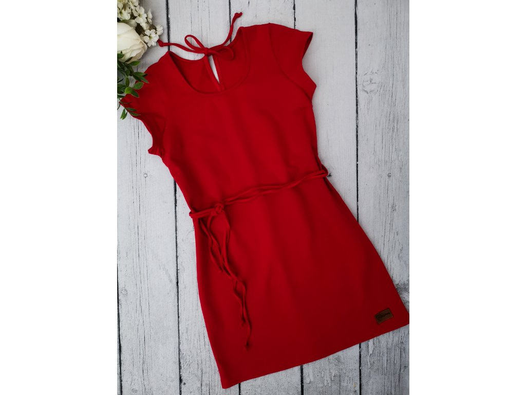 Šaty/tunika dámská ,,RED,, vel.40 sklad