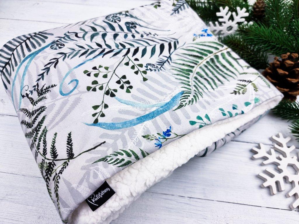 Dětská deka s beránkem ,,Ferns,,