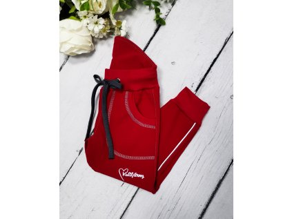 Softshell kalhoty RED s fleecem