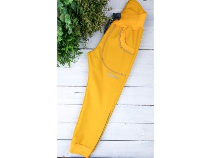 Softshell kalhoty CHARMING s fleecem