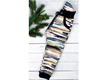 Softshell kalhoty BARS s fleecem