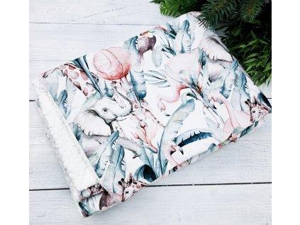 Dětská deka s beránkem ,,Africa,,