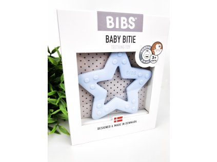 Bibs hvězdička modrá - kousátko