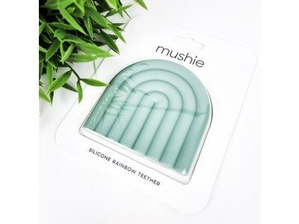 Mushie Mint duha - kousátko