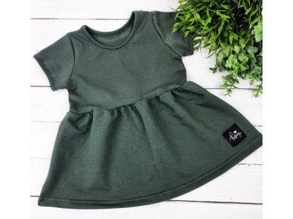 Princess šaty ,,OLIVE,, vel.74 sklad š