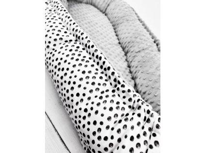 Hnízdečko pro miminko ,,ART,, grey