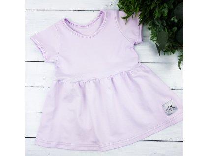 Princess šaty ,,PURPLE,, vel.74 sklad š