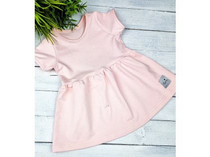 Princess šaty ,,POWDER,, vel.122 sklad š
