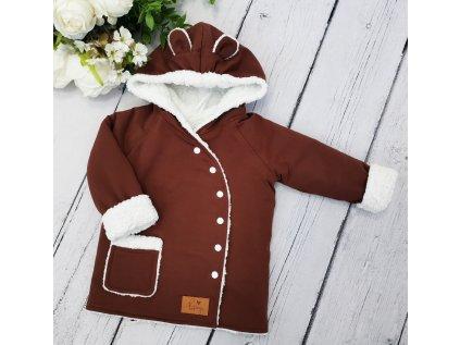 Kabátek zimní ,,Brown,, vel.56 sklad