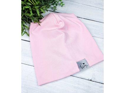 Čepice ,,Baby Pink,, vel.50,74,80 sklad