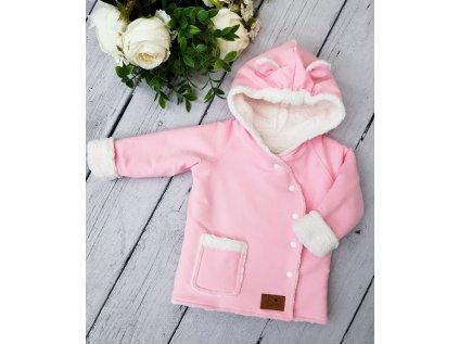 Kabátek zimní ,,Baby pink,,