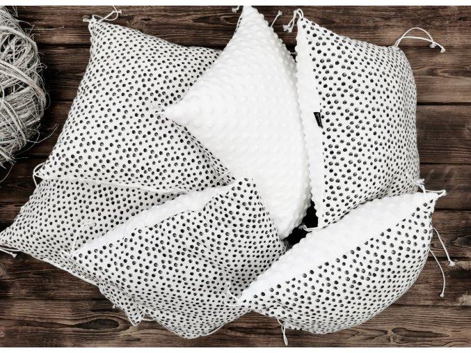Polštářkový mantinel ,, ART White ,, 1ks