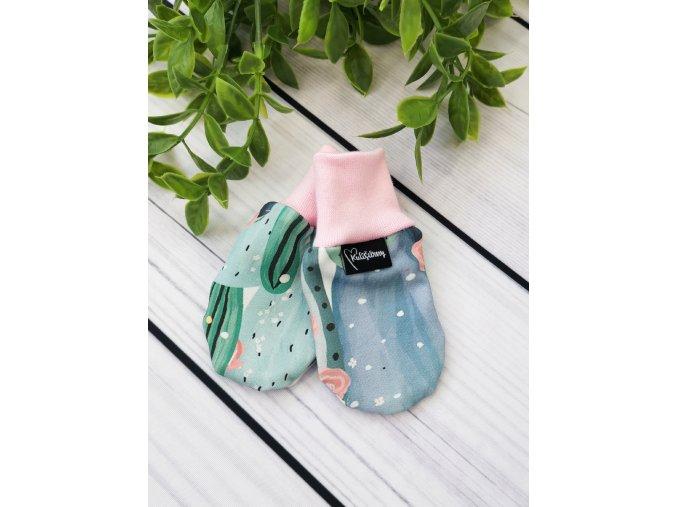 Kojenecké rukavičky proti poškrábání ,,Cactus,,