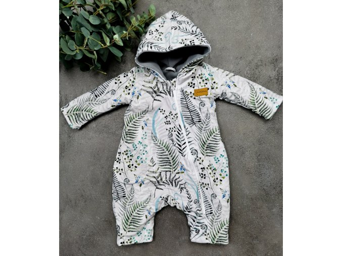 """Overal """"Ferns,, s microfleece"""