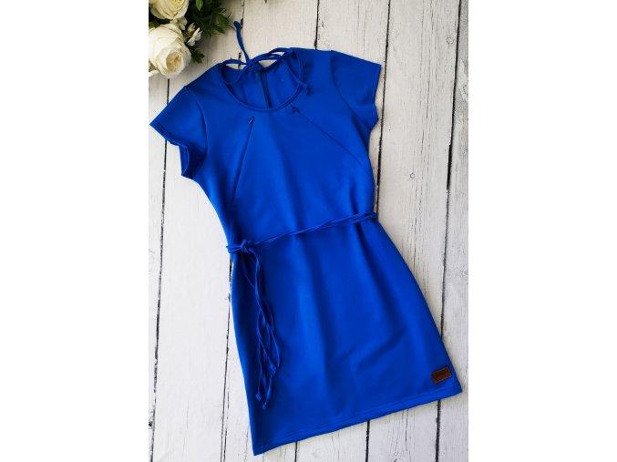Šaty/tunika dámská ,,Blue,, kojicí