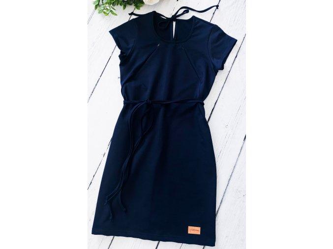 Šaty/tunika dámská ,,Navy,, kojicí