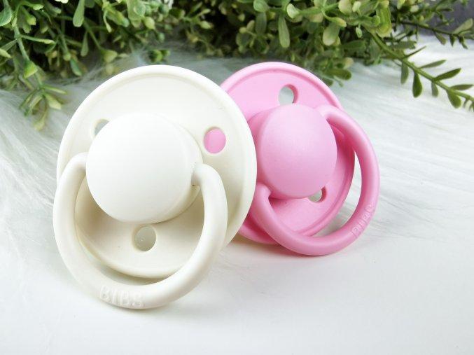 Bibs De Lux ,,Ivory/Baby Pink,, 2ks