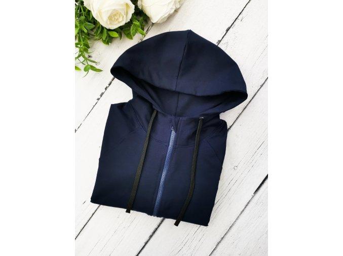 Mikina pánská ,,Navy,, zipper
