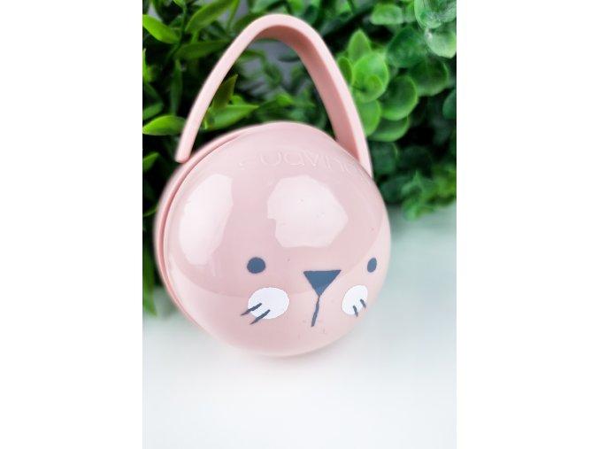Krabička na dudlíčky Hygge baby pink