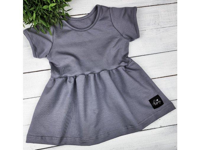 Princess šaty ,, Grey,,