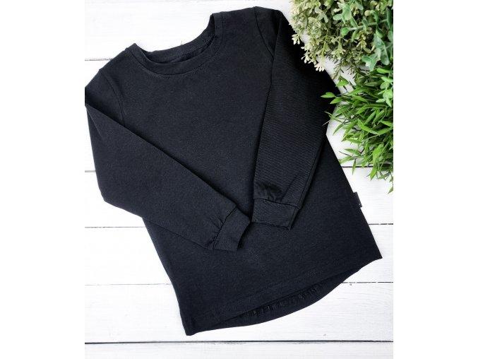 Tričko ,,BLACK,, dlouhý rukáv