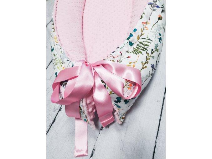 Hnízdečko pro miminko ,,Zinnia pink,,