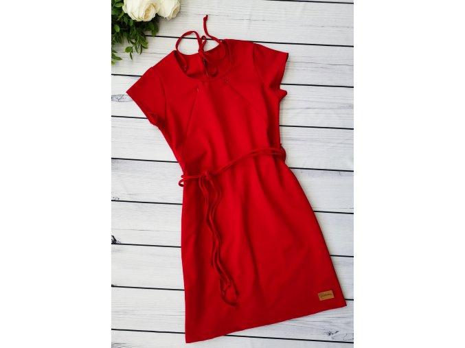 Šaty/tunika dámská ,,RED,, kojicí vel.36 sklad