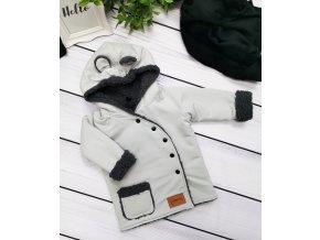 Kabátek zimní ,,Mouse grey,,