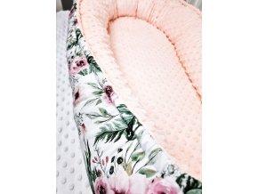 Hnízdečko pro miminko ,,RosAntic,, soft pink,