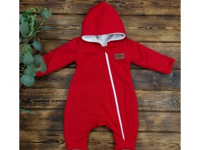 "Overal ""Red,, s microfleece"
