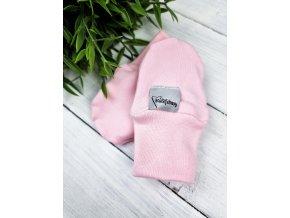 Kojenecké rukavičky proti poškrábání ,,Baby pink,,