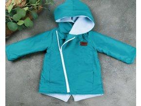 Šusťáková bunda s microfleece Hyacint Blue