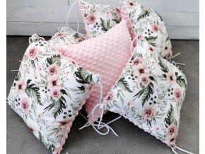 Polštářkový mantinel ,, pink ,, 1ks