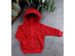 Mikina zipper ,,RED,,