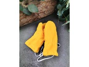 Zateplené rukavice s palcem ,,yolk,,