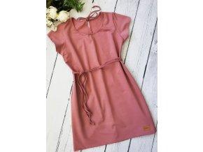 Šaty/tunika dámská ,,OldPink,,